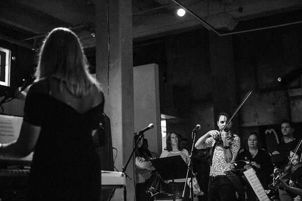 Whitney Lyman, Andrew Joslyn and the Passenger String Quartet